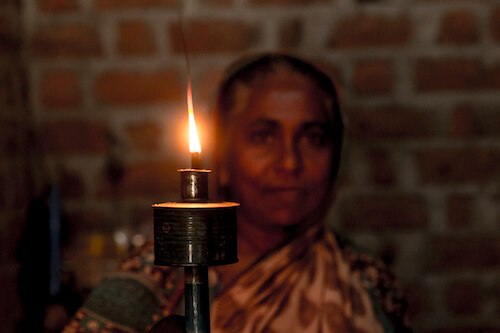 Hundreds of millions rely on kerosene lamps for lighting